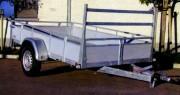 Remorque bagagère standard freinée - Masse Maximum Autorisée : 1350 kg