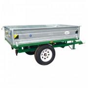 Remorque benne pour micro-tracteur - Charge utile : 1.5 Tonnes