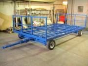 Remorque chargement latéral - Remorque 4 tonnes