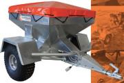 Remorque distributrice d'aliments - Capacité de charge : 300 kg