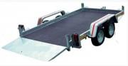 Remorque double essieux pour quad - PTAC (kg) : entre 500 et 750 kg