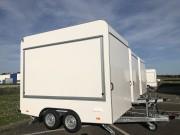 Remorque Food Truck semi équipée - Remorque 3m x 2m