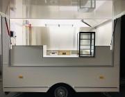 Remorque food truck sur mesure restauration ambulante - Food truck homologué avec installations gaz agréées