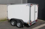 Remorque fourgon - Masse Maximum Autorisée : 750 kg