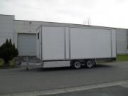 Remorque fourgon grand volume - Double essieux - PTAC : 3500 kg