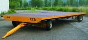 Remorque industrielle 8 à 16 Tonnes - Capacité de charge : De 8 à 16 T