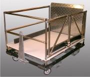 Remorque industrielle inox - Profilés en Inox - Mécano soudé