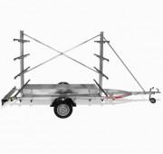 Remorque kayak - Charge utile : 450 kg (8 kayak) - 500 kg (10 kayak)
