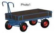 Remorque légère à ridelles - Capacité de charge : 700 - 1000 - 1250 kg