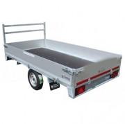 Remorque plateau 750 kg - Masse Maximum Autorisée : 750 kg