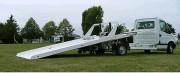 Remorque plateau aluminium - 1300 à 1500 kg - Treuil électrique