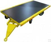 Remorque plateau contreplaqué antidérapant 10 tonnes - Dimensions : 9000 x 2400 mm