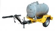 Remorque porte citerne - Capacité : 500 litres - PTC : 750 kg - 1 essieu