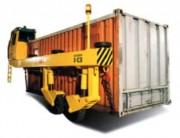 Remorque porte conteneur en U - Aadapté aux milieux encombrés et difficiles d'accès