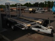 Remorque porte engin double essieux - Double essieux - PTAC : De 3000 à 3500 kg