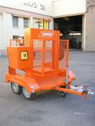 Remorque porte-presse - Capacité : 1 à 50 tonnes