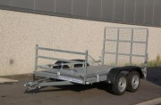 Remorque porte quad avec rampe - PTAC (kg) : entre 500 et 750 kg