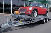 Remorque porte voitures plateau basculant - PTAC : 2 700 à 3 500kg