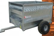 Remorque pour ferme - Poids à vide : 150 kg