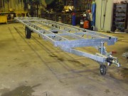 Remorque pour panneaux d'isolation sur-mesure - PTC : 1100 Kg