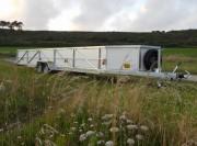 Remorque pour transport de voiles sur-mesure - PTC : 1500 Kg