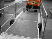 Remorque pour vehicule électrique - Capacité supportée : 2000 Kg
