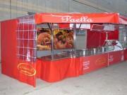 Remorque vente plats préparés - Pour la vente de Paëlla