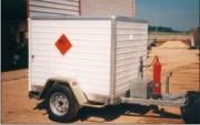 Remorques pour le transport d'explosifs - Transport d'explosifs