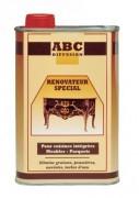 Rénovateur bois professionnel - Bidon de 500 ml - Livré avec 2 chiffonnettes jaunes