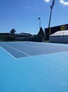 Rénovation court tennis en résine - Différents procédés de rénovation : 3 à 7 couche ou sur support