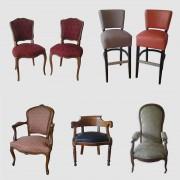 Rénovation fauteuil chaise