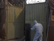 Rénovation peinture portails - Peinture bi-composante polyuréthane par procédé électrostatique