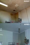 Rénovation peinture salle blanche