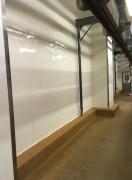 Rénovation peinture salle blanche - Peinture appliquée