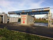 Rénovation peinture station de lavage