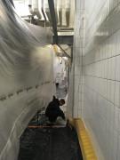Rénovation salle blanche - Peinture compatible avec H202