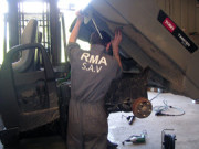Réparation entretien matériel agricole - Atelier équipé de 300 m² et d'un camion atelier