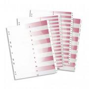 Répertoire numérique 26 positions maxi format pour pochettes, en PVC 19/100e - Avery