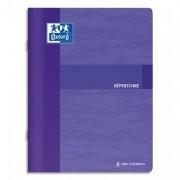 Répertoire reliure piqûre 17x22 cm 96 pages grands carreaux papier 90g - Super Conquerant by OXFORD