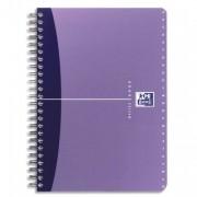 Répertoire spirales couverture PP format 11x17cm 180 pages réglure ligné 6mm – gamme OFFICE - oxford
