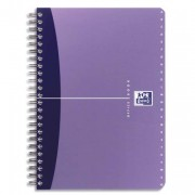 Répertoire spirales couverture PP format 9x14cm 180 pages réglure ligné 6mm – gamme OFFICE - oxford