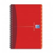Répertoire spirales couverture souple format 21x29,7cm 180p réglure ligné 7mm gamme OFFICE - oxford