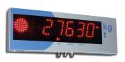 Répétiteur de poids - Ecran haute luminosité (75 mm de hauteur) avec feu bicolore