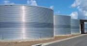 Réserve d'eau hors sol - Capacité de stockage de 4,3 m³ à 1970 m³