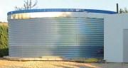 Réserve d'eau hors sol - Capacités de stockage de 4,3 m³ à 1970 m³