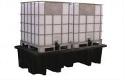 Réservoir à 2 cuves 1100 L - Réservoir de stockage avec 2 cuves de 1100 L