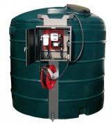 Réservoir à carburant pour stockage extérieur - Capacité (L) : 5000.