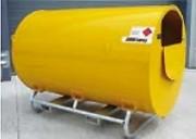 Réservoir à fioul en acier galvanisé - Capacité : De 500 à 9000 L - Statique, mobile, sur remorque
