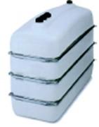 Réservoir à mazout et alimentaire - Avec renforts métalliques