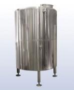 Réservoir d'eau de refroidissement pour brasserie - Pression dans la zone de refroidissement (bar) : 1.5